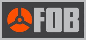 fob logo archery bowhunting arrow fletching