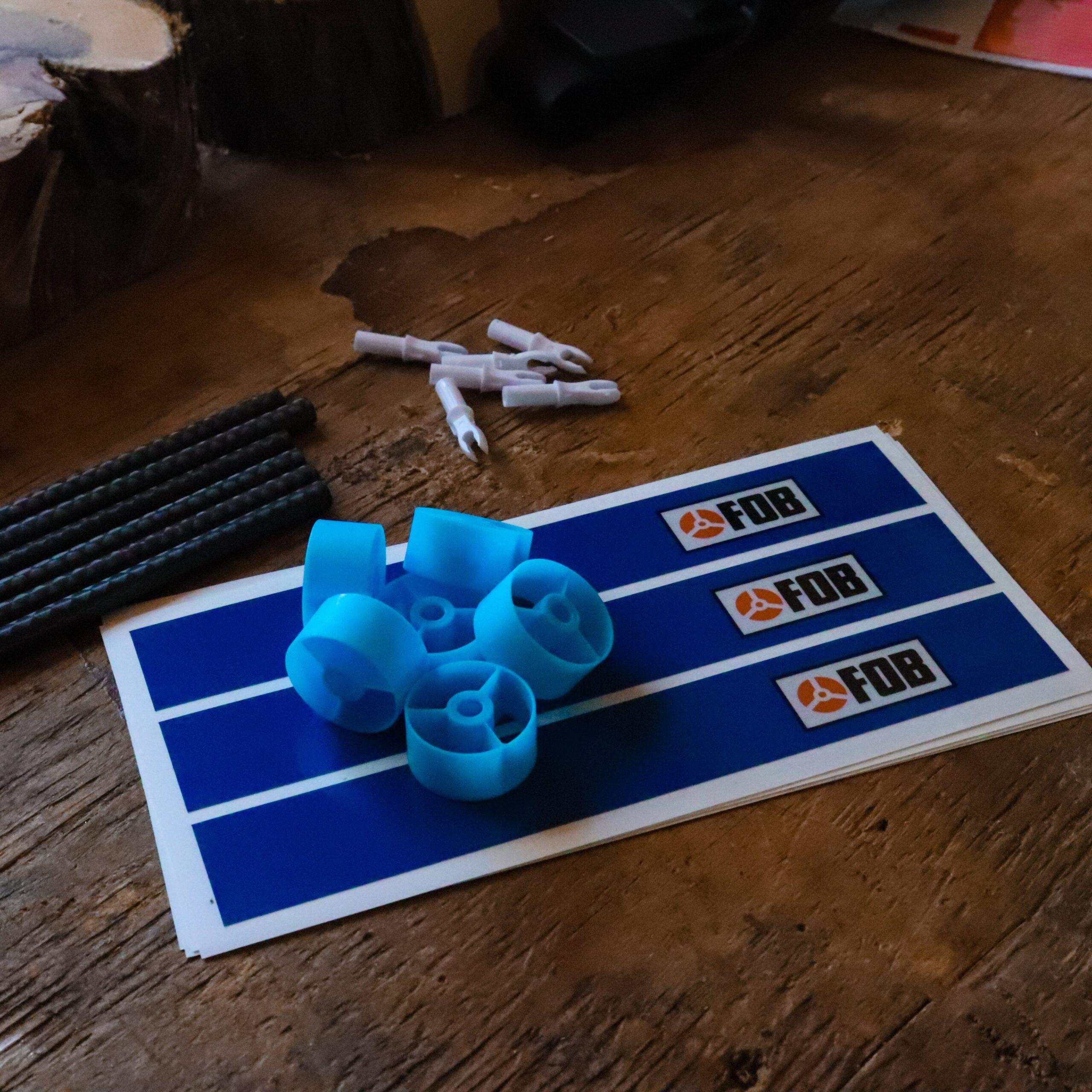 FOB Blue Reflective Arrow Wraps
